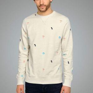 Jack & Jones summer symbols sweater size medium